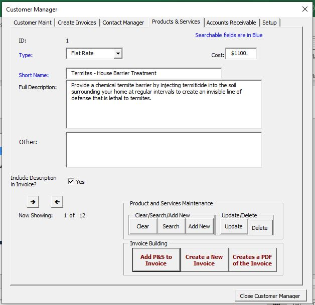 Free Simple Invoice Generator Application.